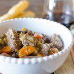 Homemade Beef & Mushroom Stew