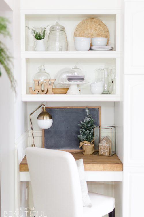 Simple Christmas Kitchen