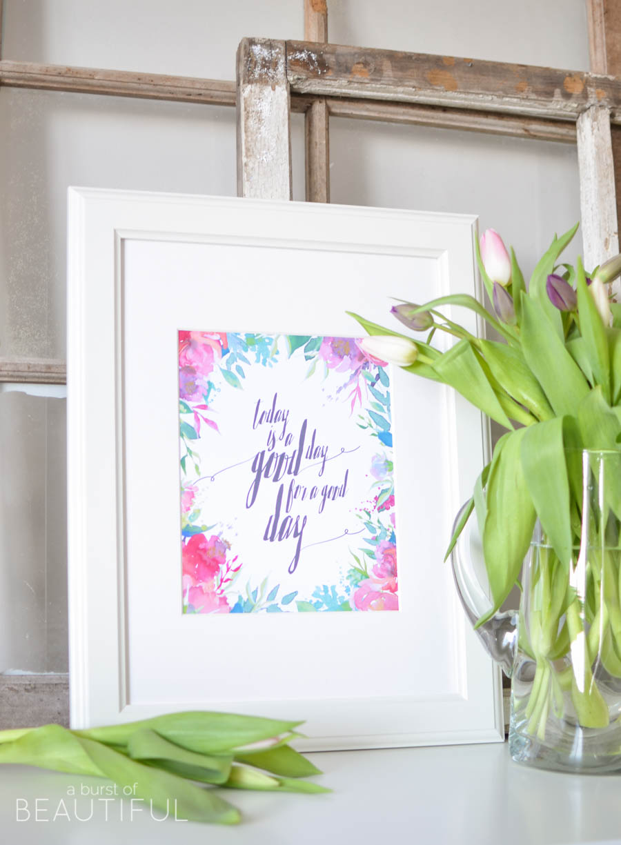 Take a look back at our Top Ten Posts of 2016: Free Spring Printable