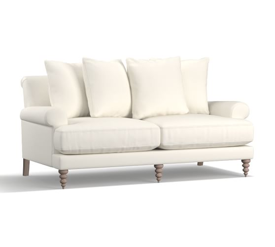 Timeless Neutral Sofas - Pottery Barn | Amalie Upholstered