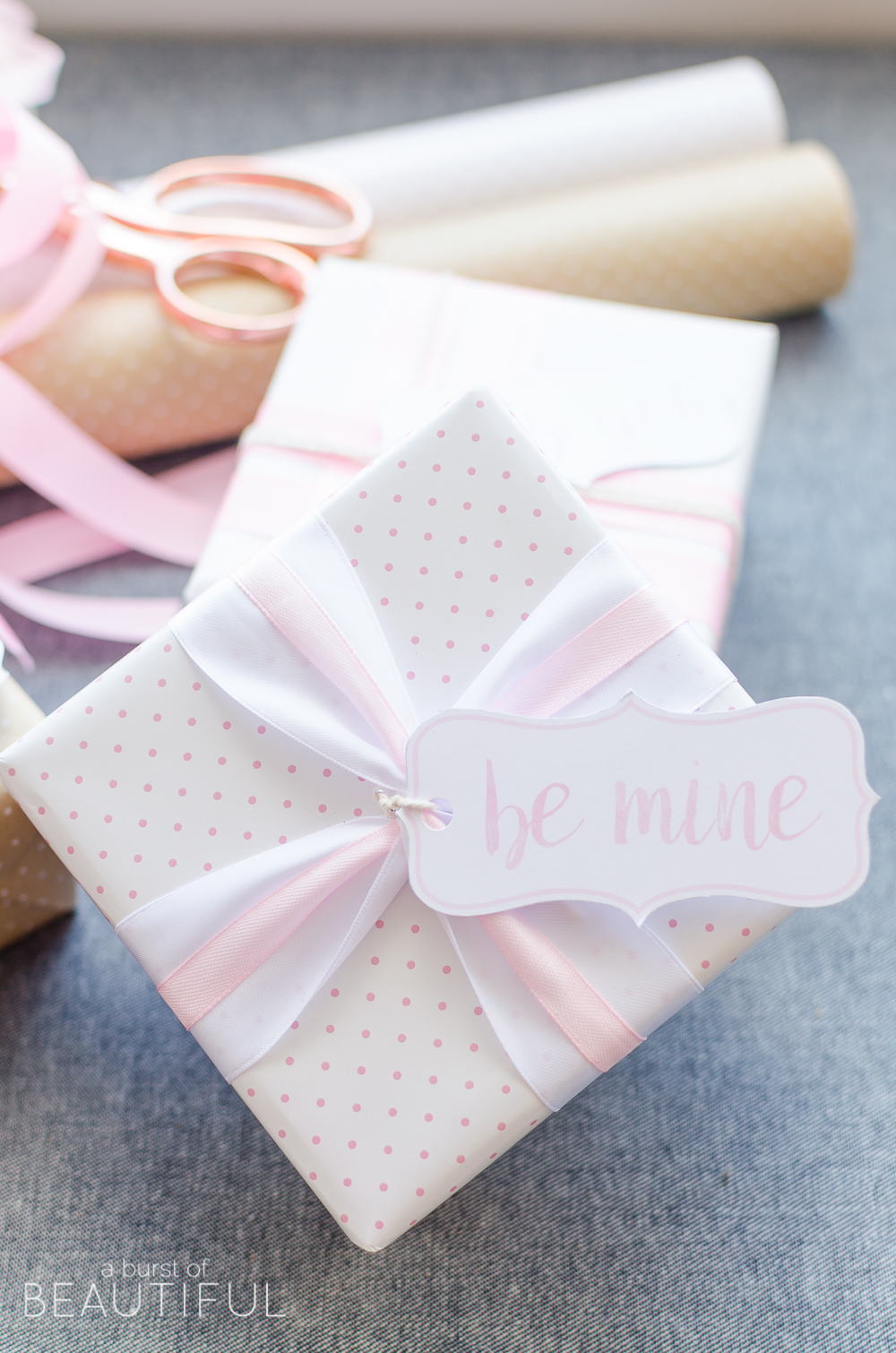 Valentine's Day Gift Tags | Free Printable: Add a special touch to gifts with these sweet Valentine's Day gift tags