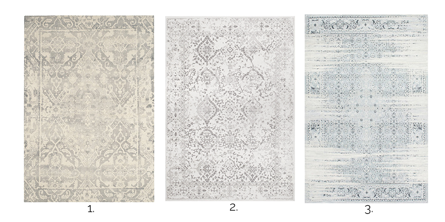 A Burst Of Beautiful Neutral Vintage Area Rugs 1 3
