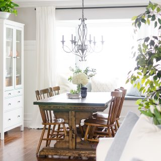 Spring Home Tour | Our Dining Room