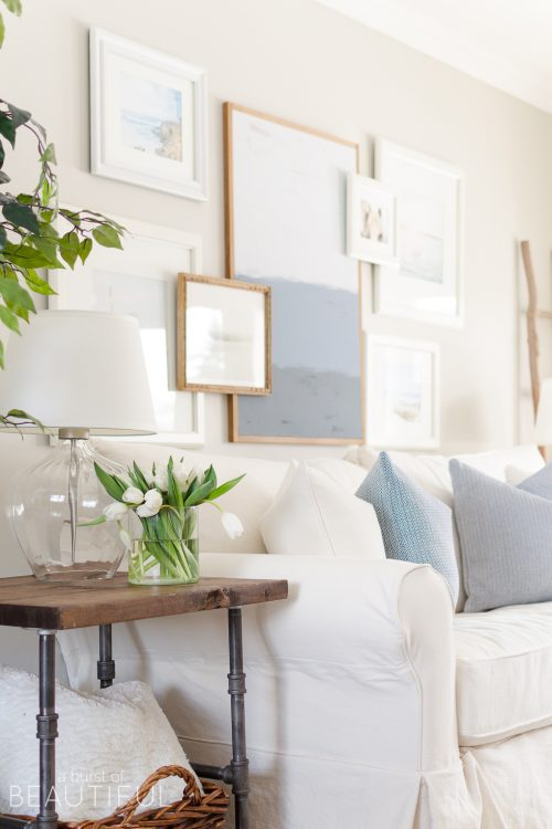 Spring Home Tour | Our Living Room