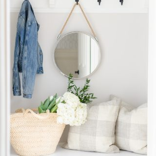 Spring Home Tour | Our Mudroom