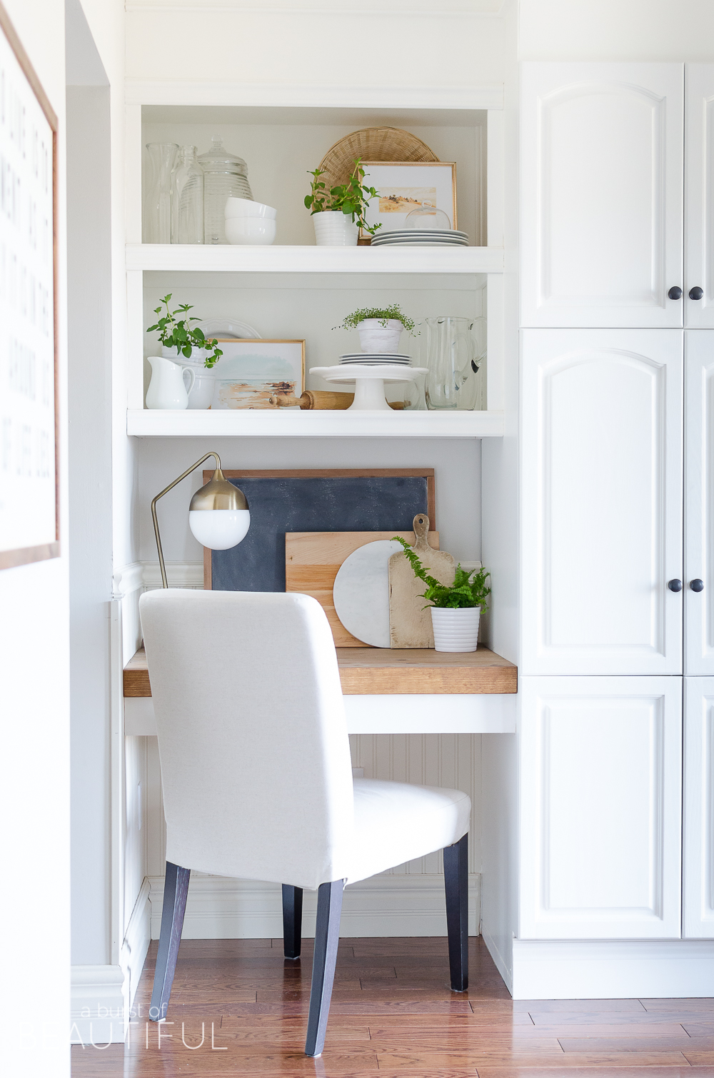 How To Style Open Shelving In The Kitchen A Burst Of: open shelving