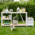 Summer Entertaining + Outdoor Bar | Free Plans