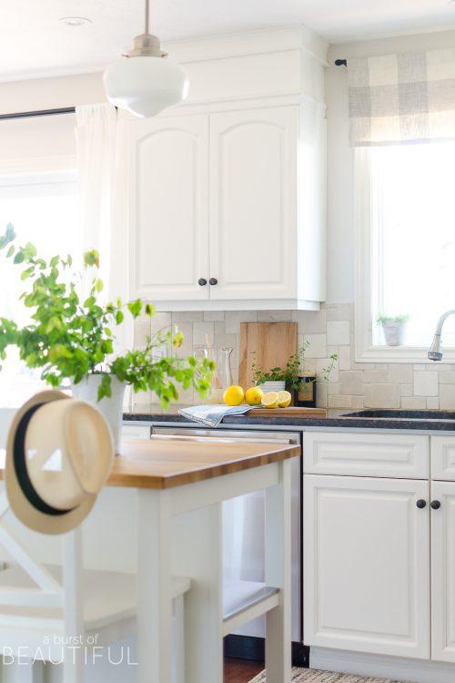 Summer Home Tour | Relaxed Modern Farmhouse Kitchen