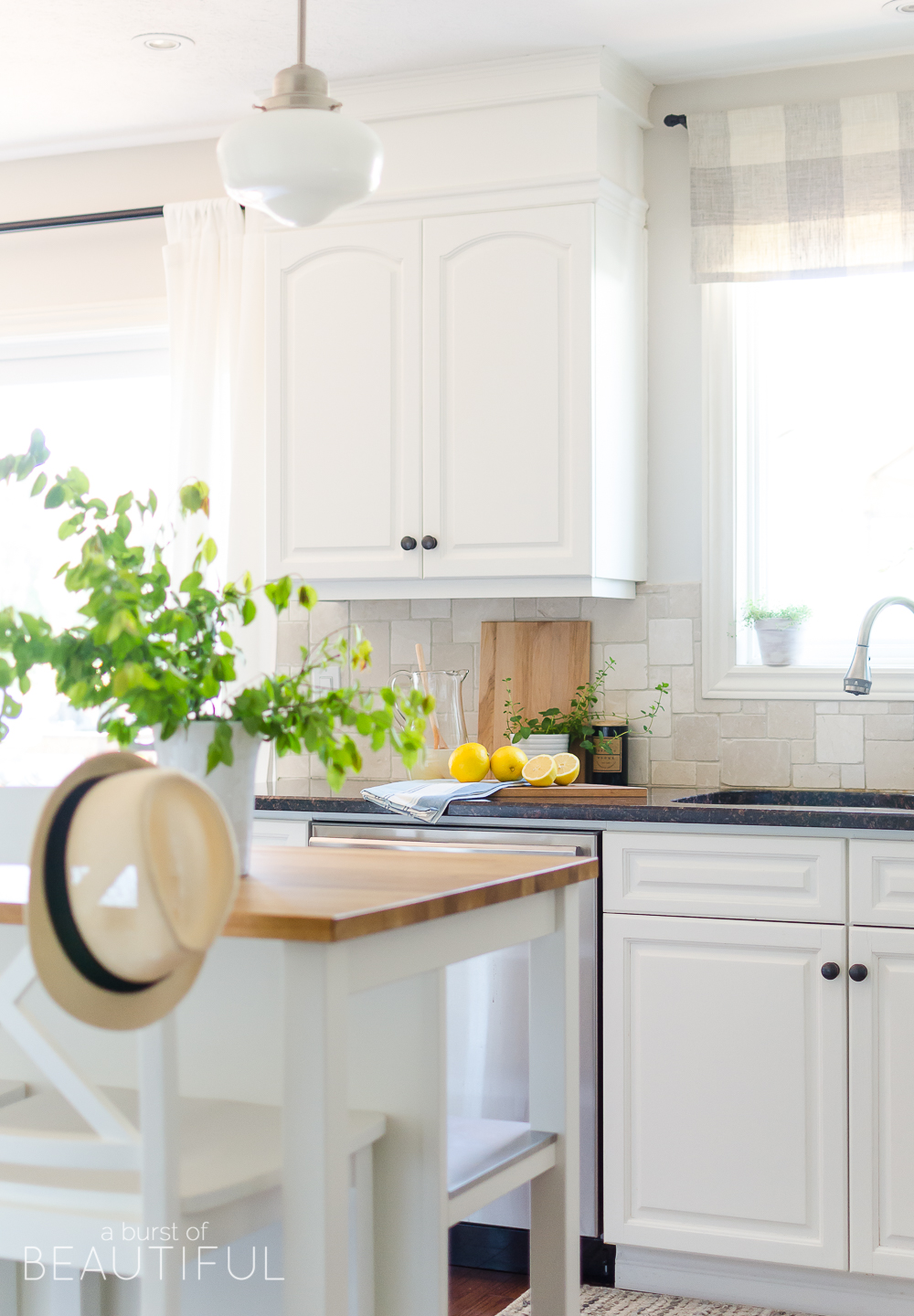 Today We Are Sharing Another Little Glimpse At Our Summer Home U2013 Our Kitchen  (you Can See Our Summer Entryway Here), Along With 24 Other Talented  Bloggers ...