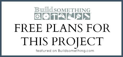Built-In Desk Free Plans