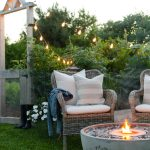Adding Ambiance to Our Outdoor Living Space | Outdoor Fire Fountain