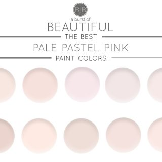 Sherwin Williams The Best Pale Pink Paint Colors