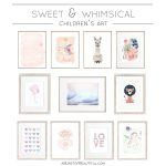 Sweet and Whimsical Art for Girls