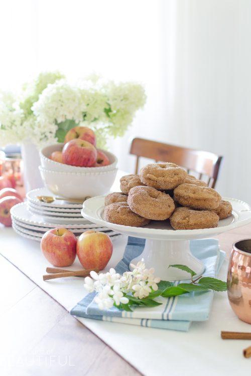 Harvest Apple Spice Donut Recipe