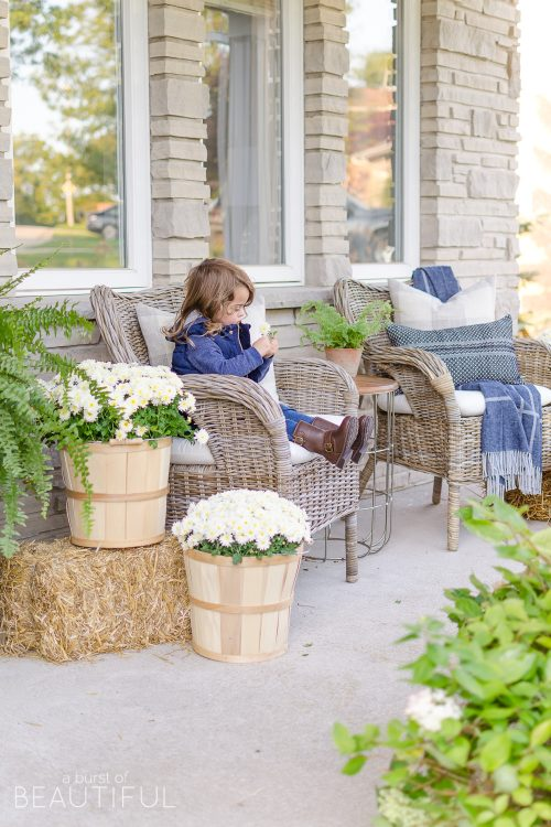 Early Fall Front Porch