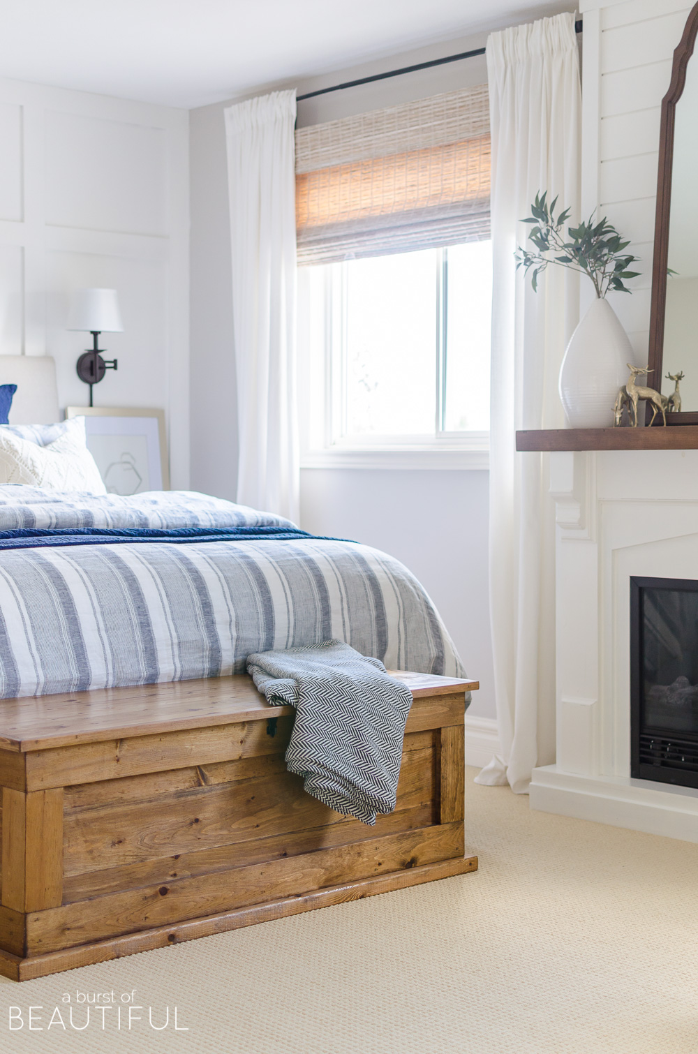 Create a cozy and inviting bedroom with these simple steps