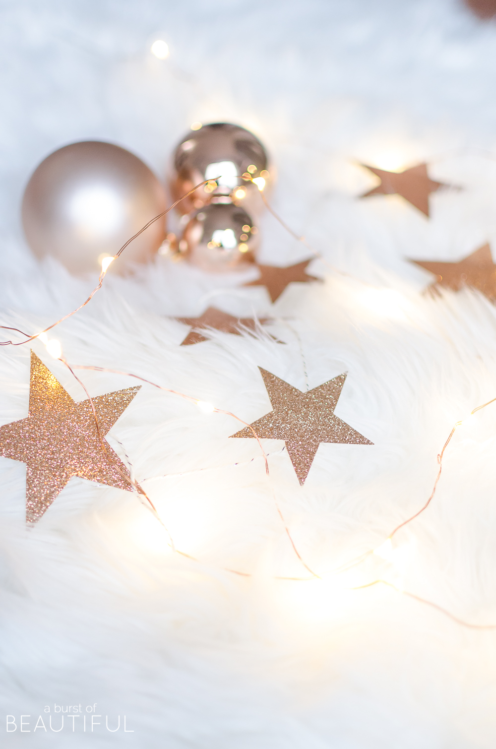Printable Christmas Star Garland