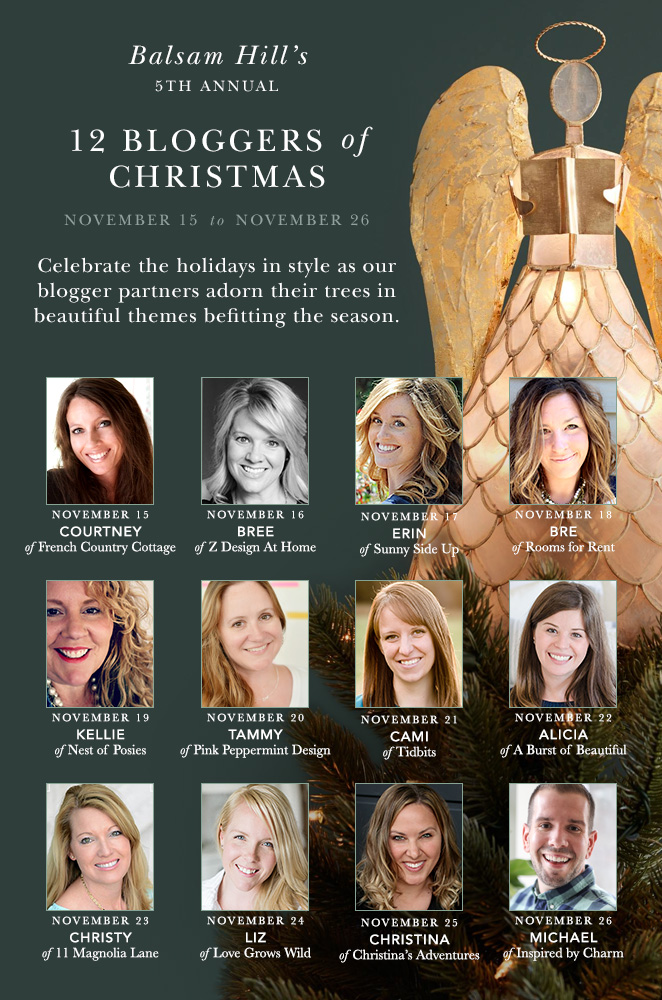 Balsam Hill's 12 Bloggers of Christmas