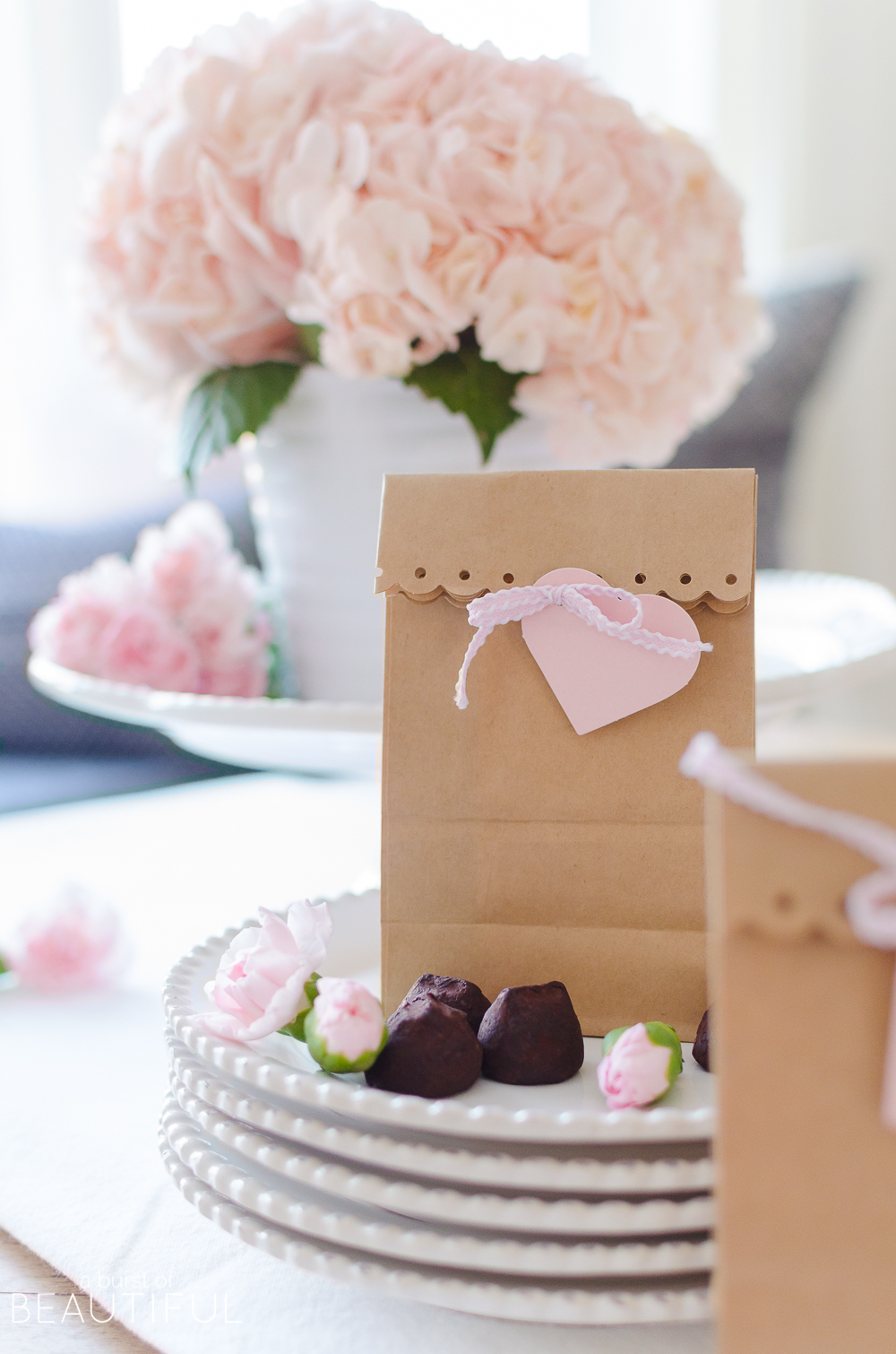These homemade Valentine's Day Party Favors are easy to make and will brighten anyone's day!