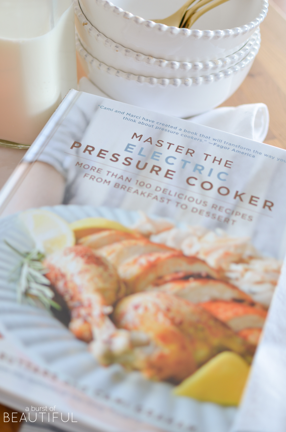 Make quick and simple family dinners with recipes from Master the Electric Pressure Cooker cookbook
