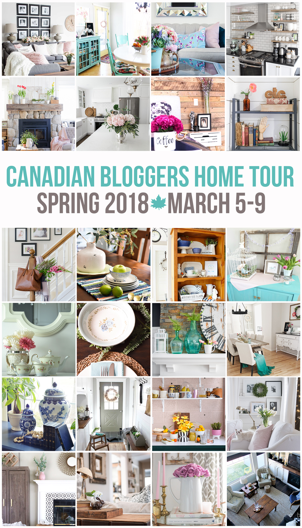 Canadian Bloggers Spring Home Tour