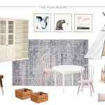 Creating a Comfortable and Functional Family Room and Playroom | Design Plan