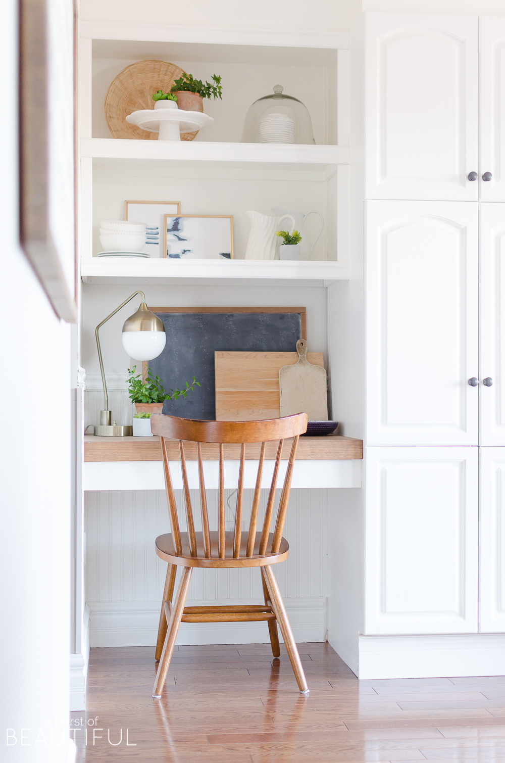 Kitchen Nook | Spring Decorating Ideas for the Kitchen - A Burst of on tiny kitchen pantry, tiny kitchen island, bedroom reading nook, built in nook, tiny kitchen garden, living room nook, tiny kitchen corner, tiny living room, tiny office, tiny kitchen appliances, tiny kitchen table, tiny kitchen ideas,
