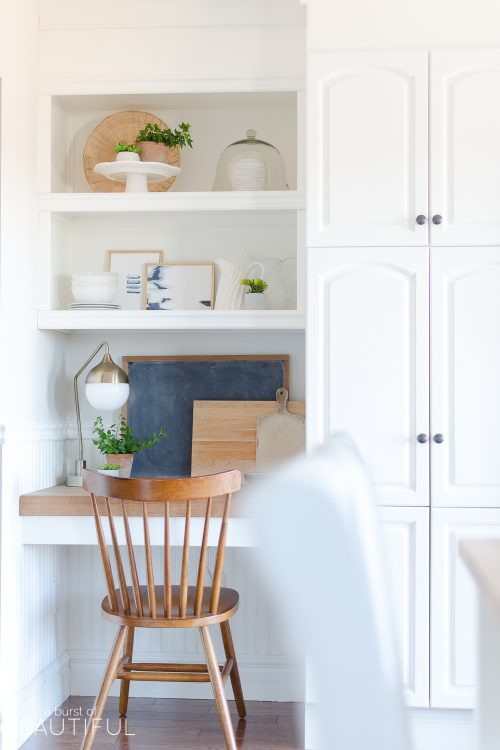 Kitchen Nook | Spring Decorating Ideas for the Kitchen