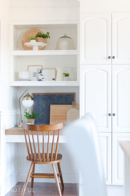 Kitchen Nook | Spring Decorating Ideas for the Kitchen