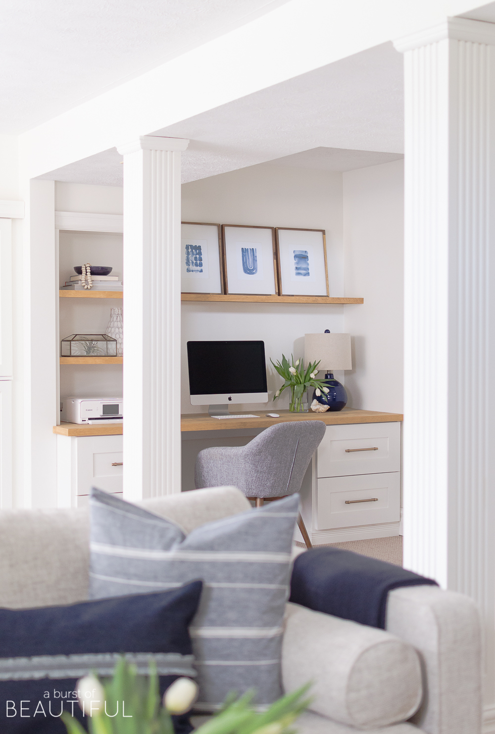 Modern And Sophisticated Family Room And Playroom Nick Alicia