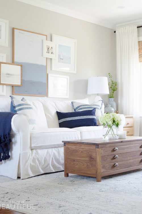 Summer Decorating Ideas | Our Simple Summer Home Tour