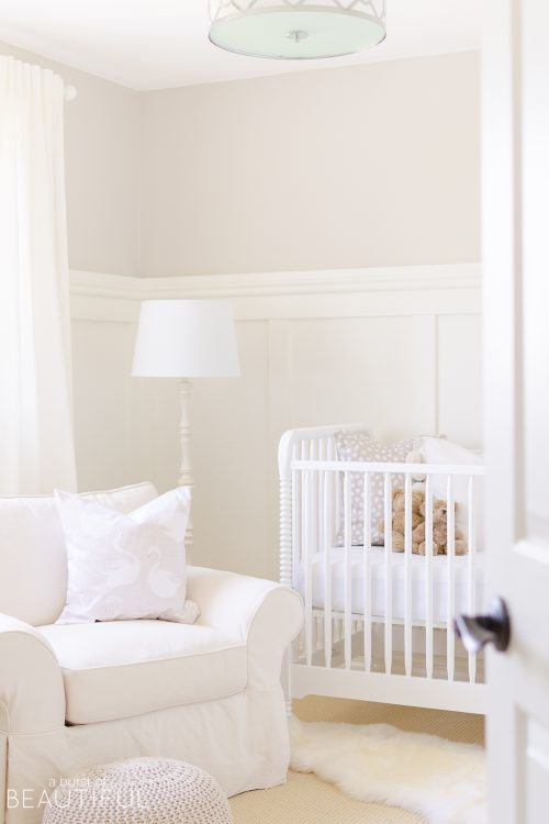 Serene Gender Neutral Nursery | Reveal