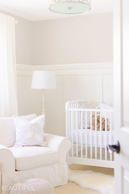 Serene Gender Neutral Nursery | Reveal