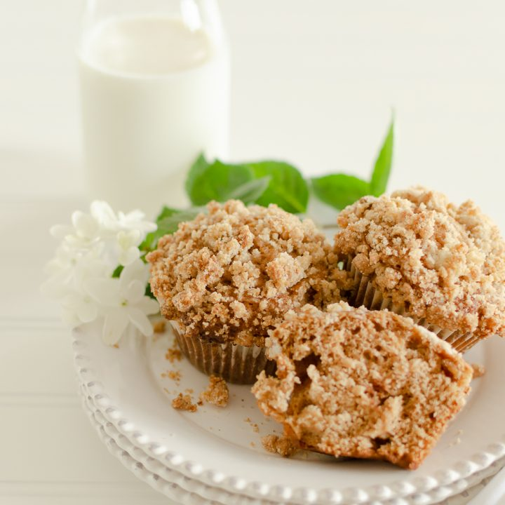 The Best Homemade Apple Crumble Muffins