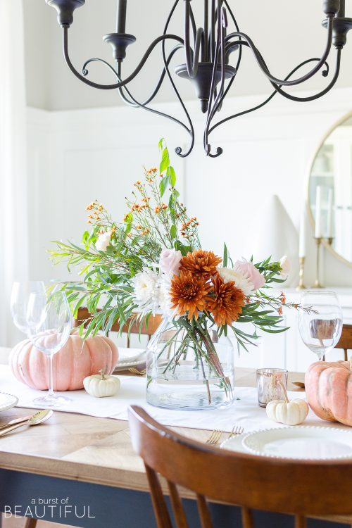 Fall Tablescape | Traditional Autumn Colors