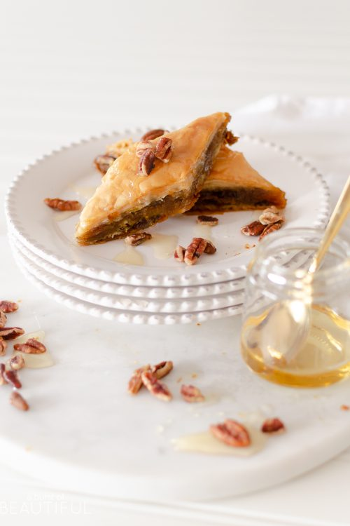 Easy Pumpkin Pie Baklava