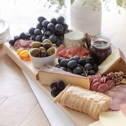 Create the perfect charcuterie board this holiday season with our must-have essentials, including free plans to build your own serving board.