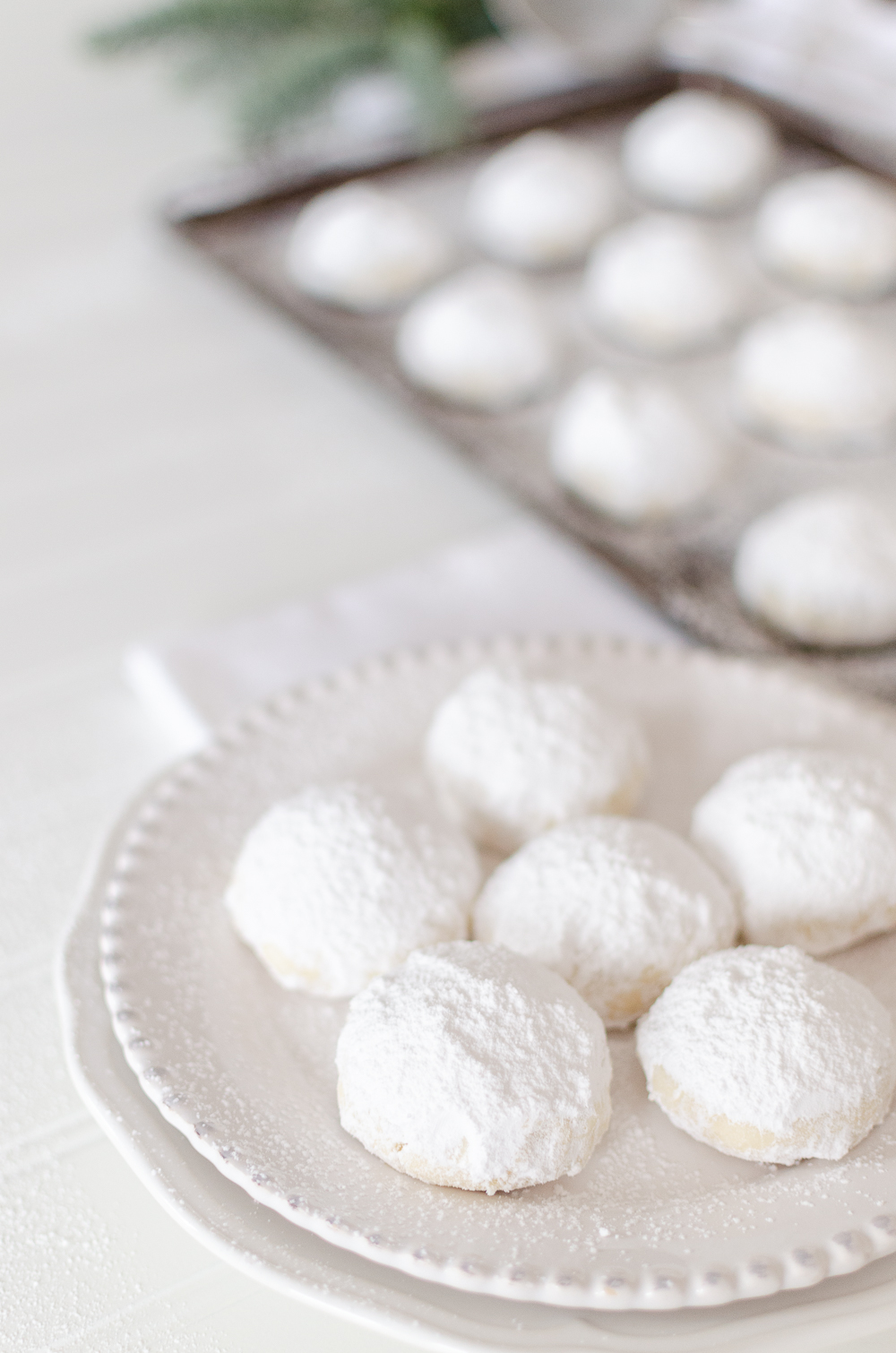 These melt-in-your-mouth shortbread cookiessprinkled in icing sugar are sure to become a Christmas favorite. Find the recipe for this holiday classic along with 20+ other delicious Christmas cookies.