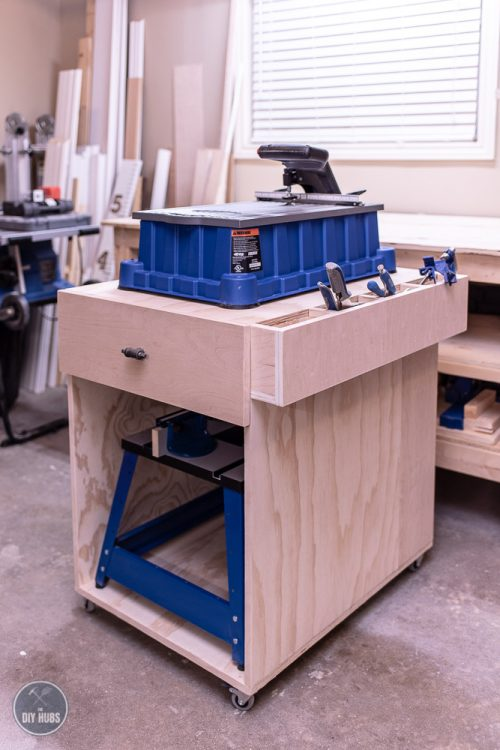 Woodworking Shop Mobile Cart | Free Plans