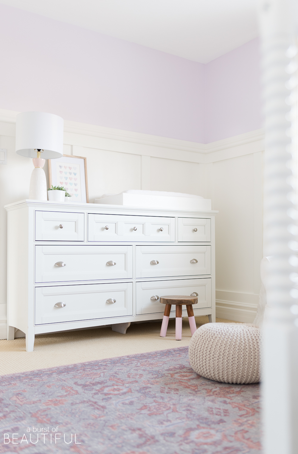 Board and batten wainscotting is a simple and inexpensive way to add character and detail to any space. Find our easy tutorial here.