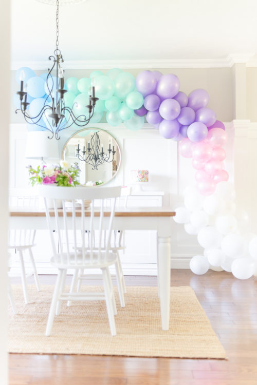 Ella's Bright and Colourful Rainbow Birthday Party