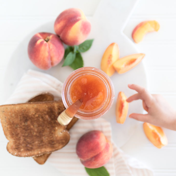 Small Batch Peach Jam