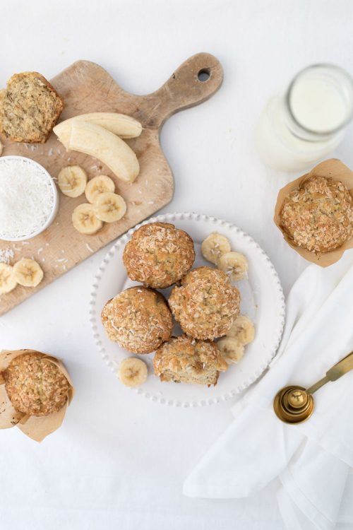 Banana Coconut Muffin Recipe