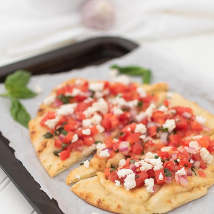 Tomato & Feta Bruschetta