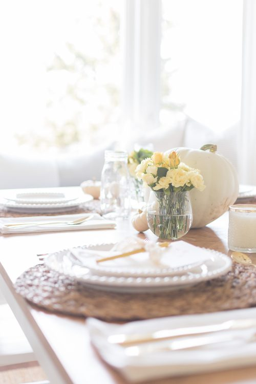 Kid Friendly Thanksgiving Table Decor Ideas