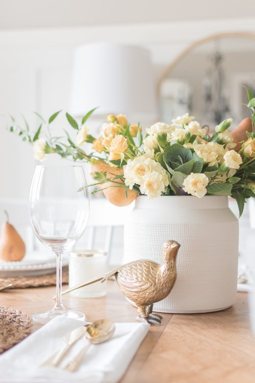 Simple Fall and Thanksgiving Table Decor Ideas