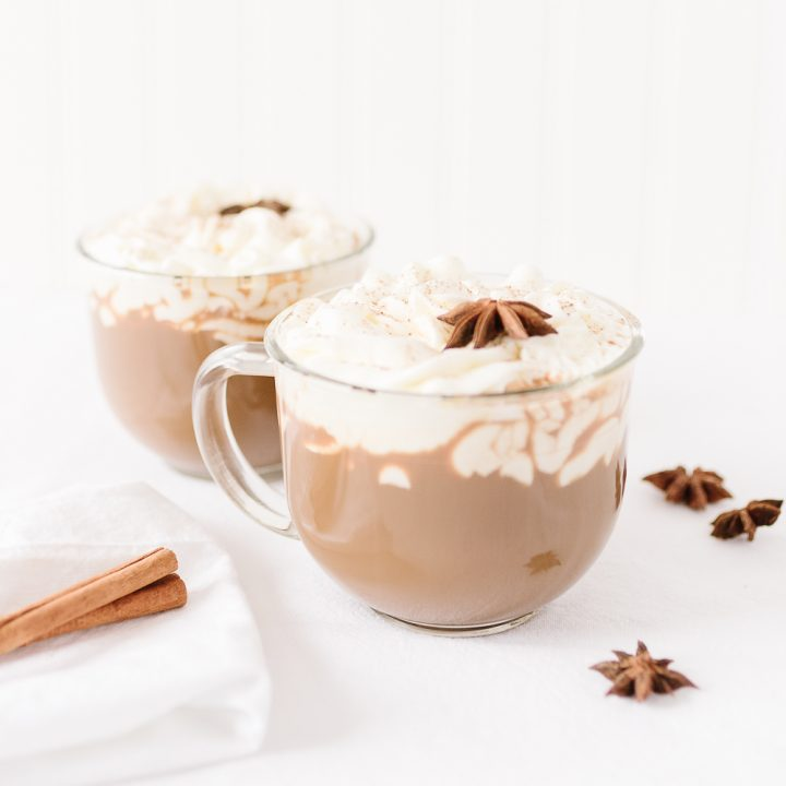 Spiked Coffee with Galliano Cream Topping