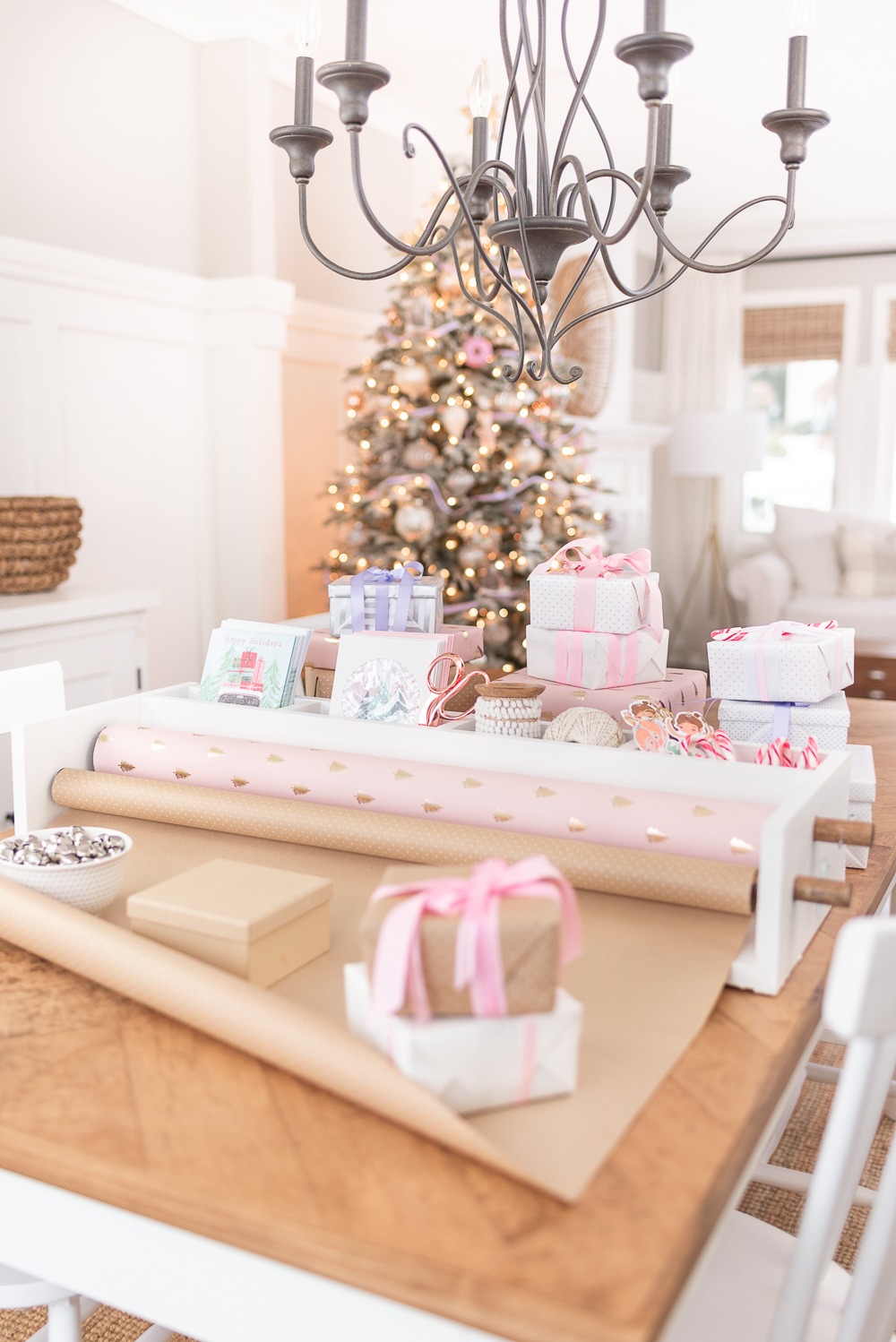 Gift Wrapping Caddy