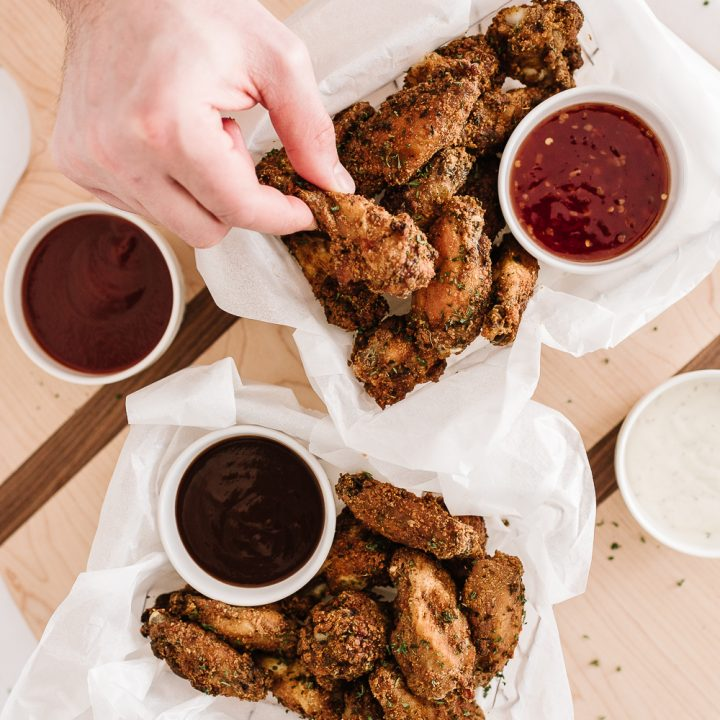 Crispy Oven-Baked Chicken Wings
