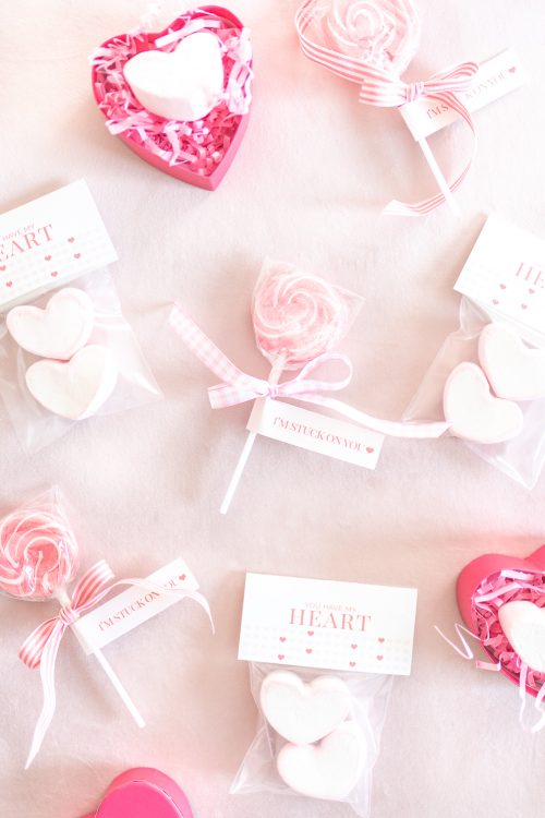 DIY Candy Valentine's and Free Printables